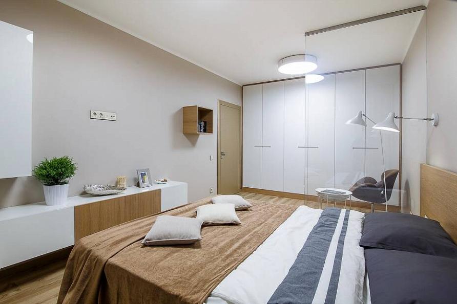 Проект квартиры в минималистичном стиле при участии Cosmorelax