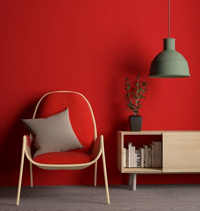 Interior in red: с чем сочетать красный цвет, чтобы не обжечься?