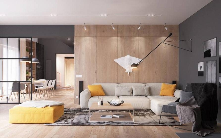 Дизайн-проект загородного дома «Вдохновение скандинавского модернизма»