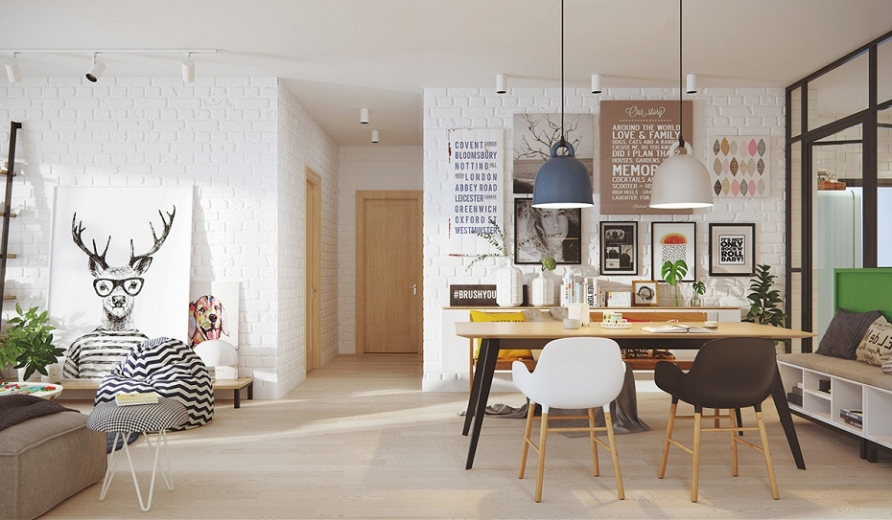 Дизайн-проект дома на две семьи