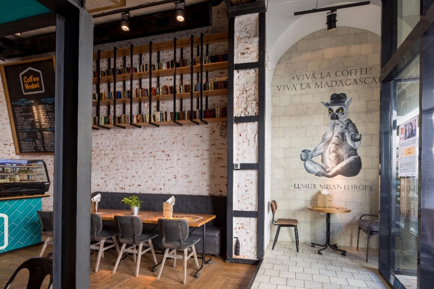 Идеи и решения для оформления кафе, ресторана и отеля