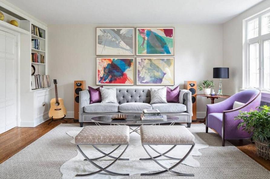 Глубина и таинственность: фиолетовый цвет в интерьере