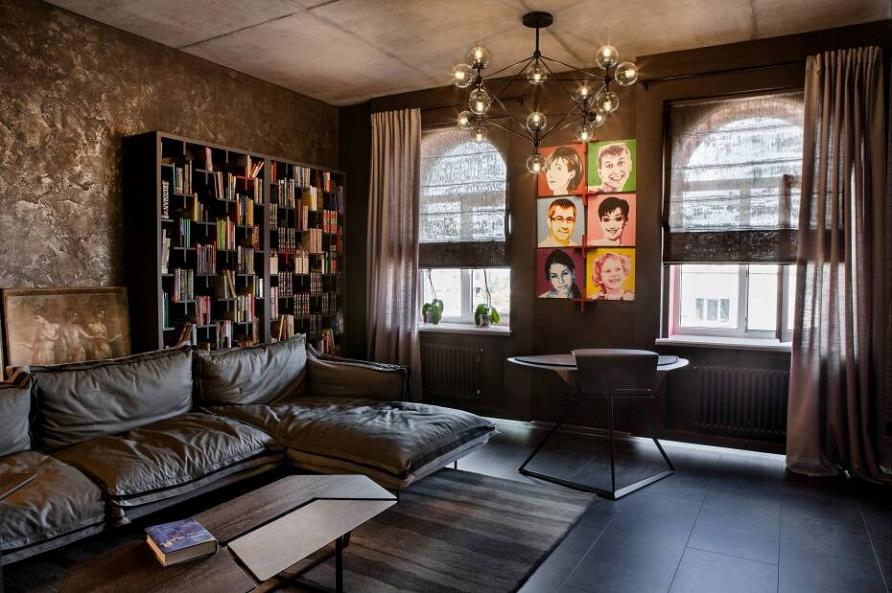 Дизайн-проект кабинета для деловой леди при участии Cosmorelax