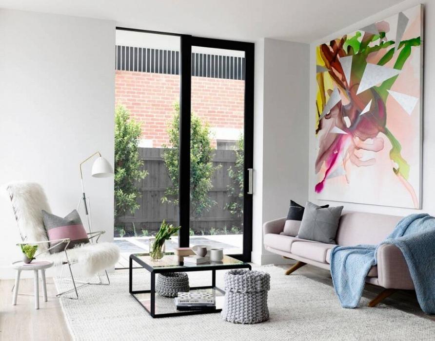Светлые и стильные апартаменты в скандинавском стиле