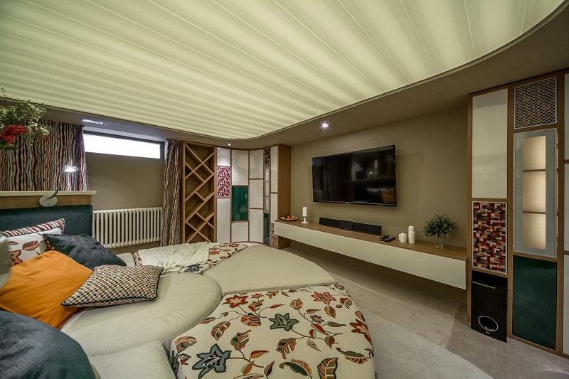 «Дачный ответ»: Проект «Гостиная вокруг дивана» при участии Cosmorelax