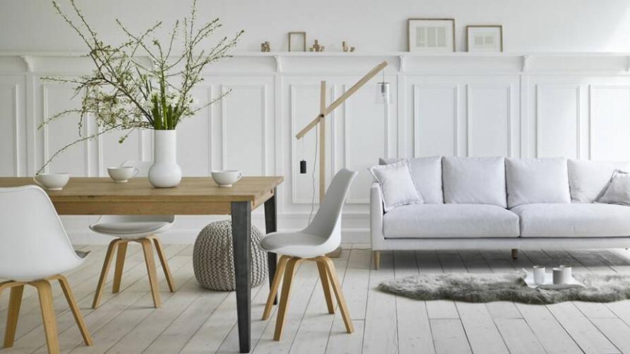 Total white: белый цвет в интерьере