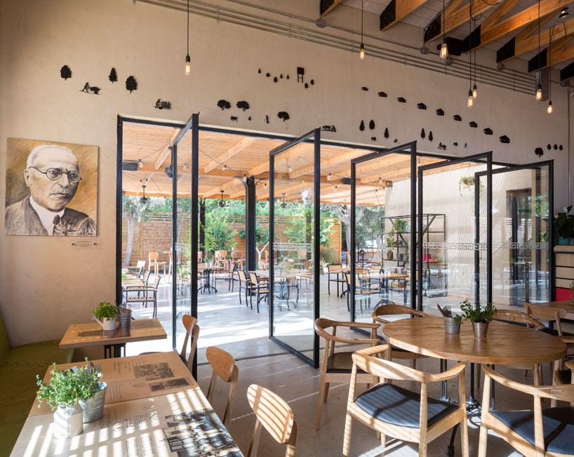 С уважением к истории: проект уютного кафе в Израиле