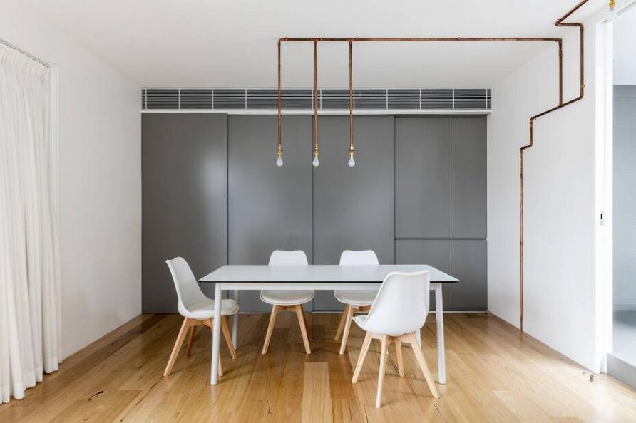 Комфорт и гармония: проект двухуровневых апартаментов в Сиднее