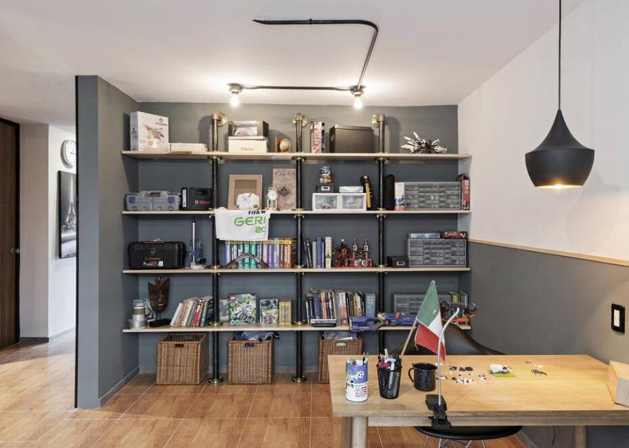 Круговое движение: квартира с оригинальной планировкой и внутренним двориком в Мексике