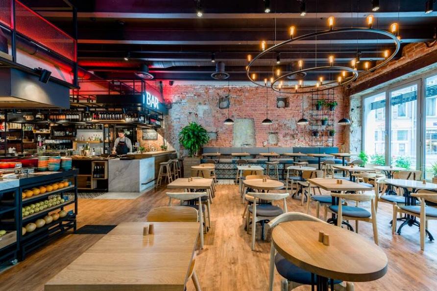 Проект ресторана-маркета при участии Cosmorelax