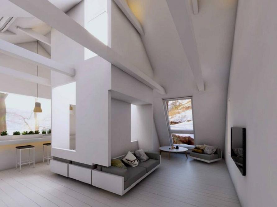 Смотрите 4 декабря проект «Белая мансарда с деревом в кубе» при участии Cosmorelax