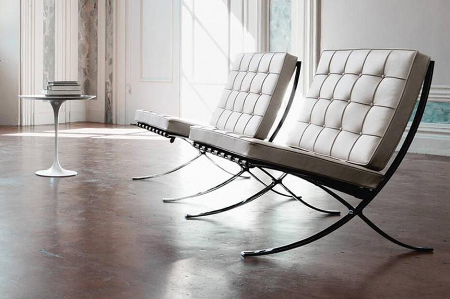 Легенды дизайна: 13 интерьеров с мебелью Barcelona