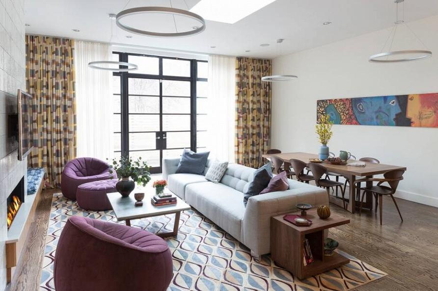 Просто и со вкусом: светлый дом в Нью-Йорке