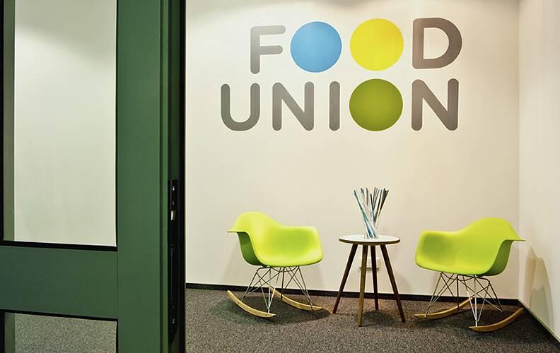 Офис компании Food Union от To4ka Design.
