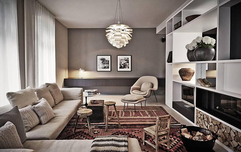 Расслабляющая квартира в Берлине от студии Novono.