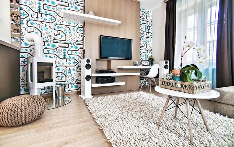 Комфорт и простота: интерьер квартиры в Будапеште.