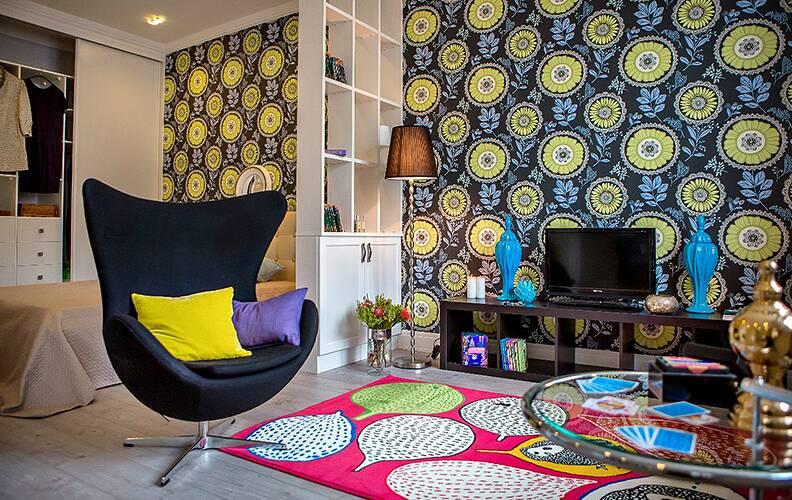 Интерьер квартиры с английским характером от Zi-design Interiors