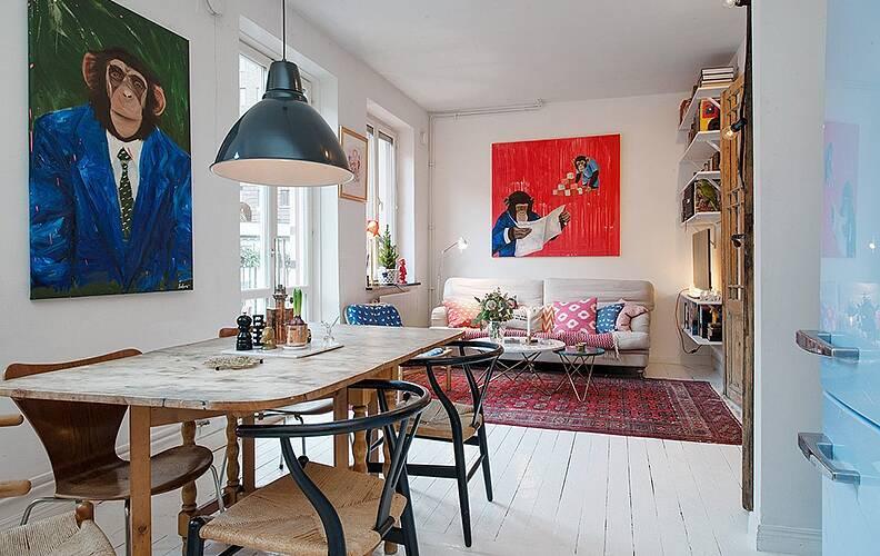 Квартира-студия в Швеции