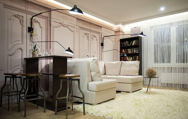 Эклектичная квартира в Москве