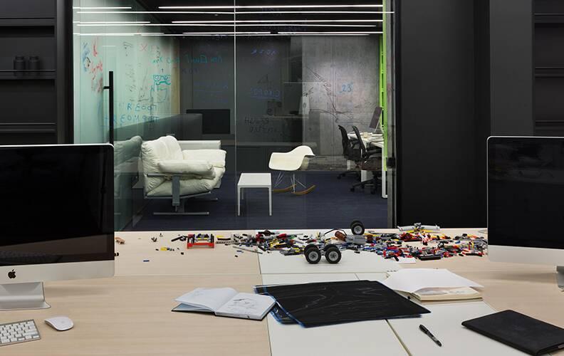 """Офис IT компании от студии """"Baraban+""""."""