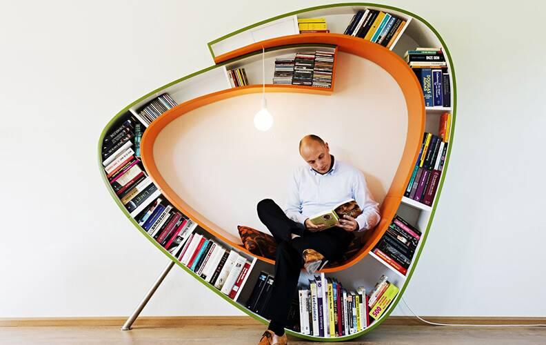 20 самых уютных мест для чтения
