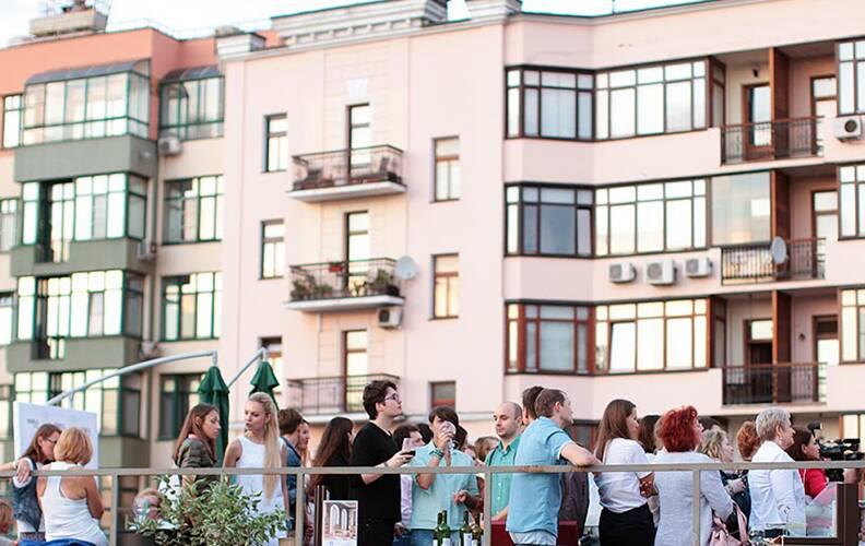 Фотоотчет со встречи архитекторов на крыше Cosmorelax