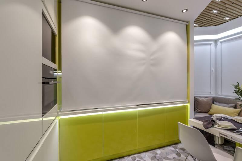 Кухня с местом для рисования