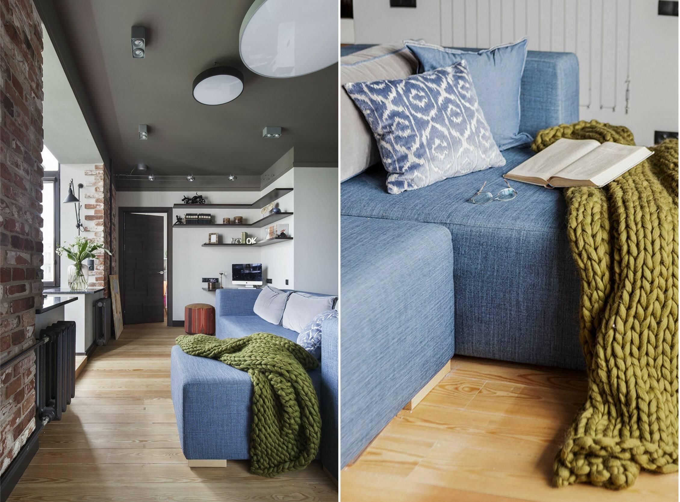 Современные апартаменты в эклектичном стиле от Татьяны Безверхой