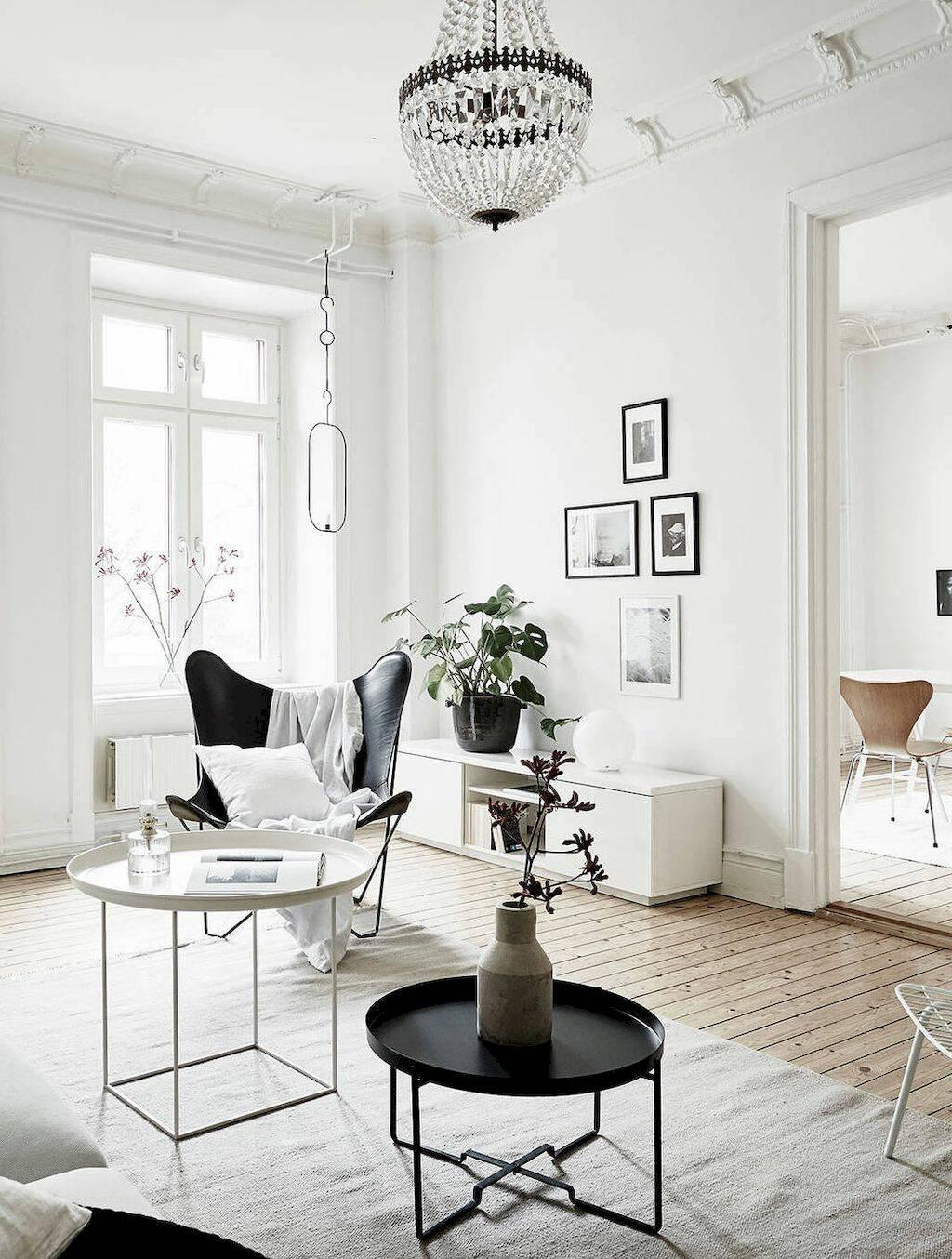 10 лучших черно-белых интерьеров