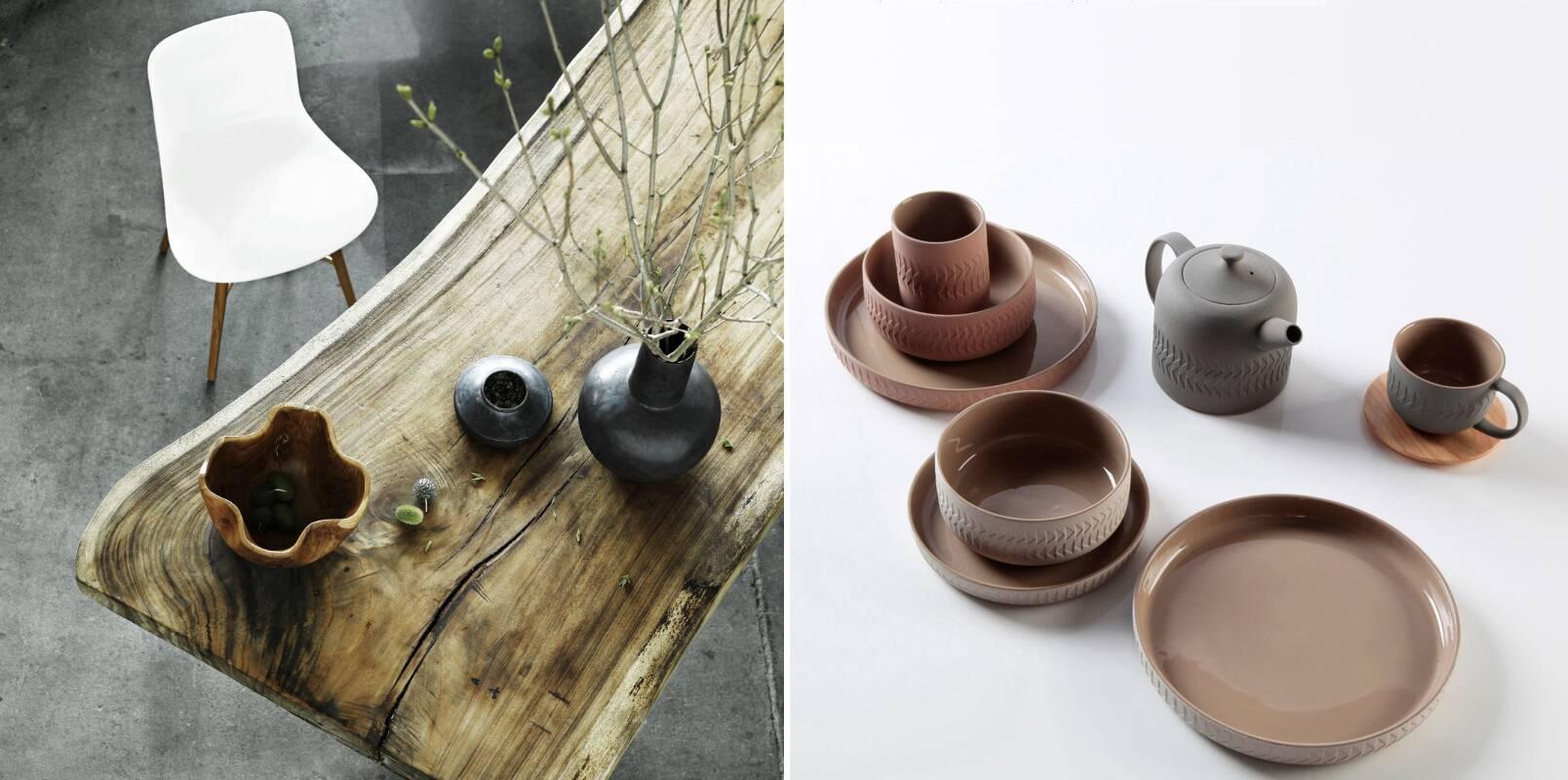 Глиняная крафтовая посуда cosmorelax