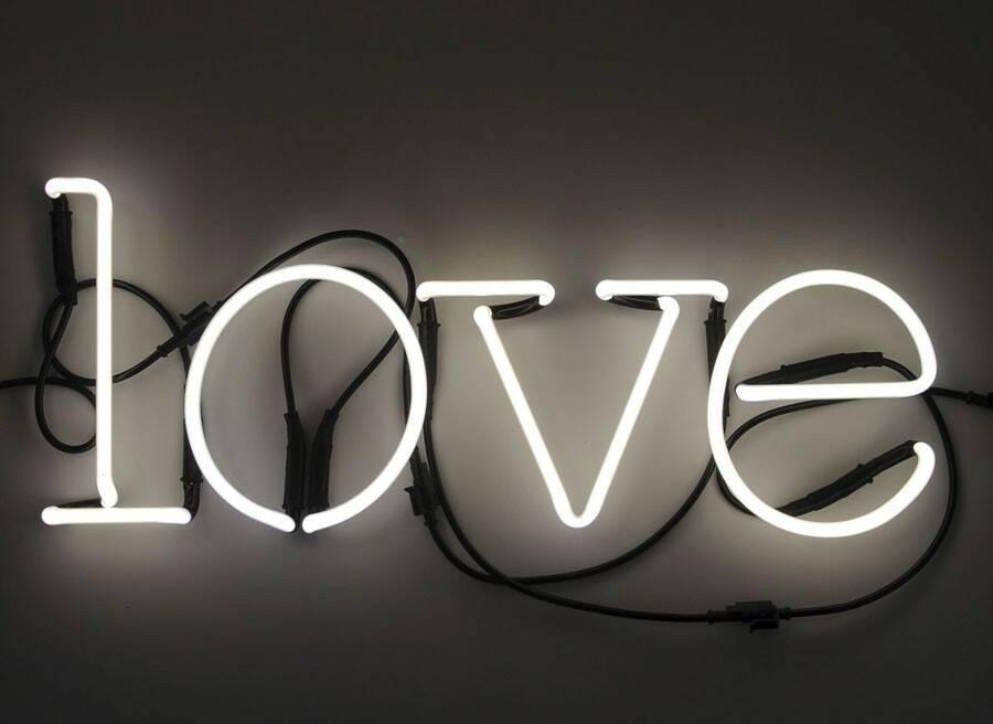 Настенный светильник Neon Art Love