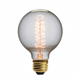 Винтажная лампа Эдисон Radio Spiral (G95) 32 нити