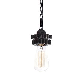 Подвесной светильник (шестерня)