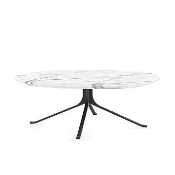 Кофейный стол Blink с каменной столешницей диаметр 108