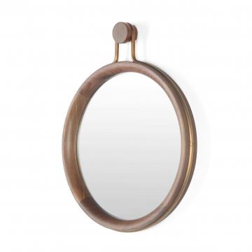 Настенное зеркало Utility овальное высота 52