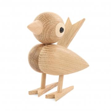 Статуэтка Happy Bird, дуб