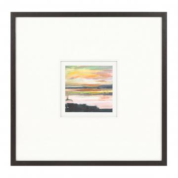 Постер Sunrise on the Lake
