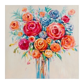 Картина Roses размер 100x100