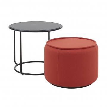 Стол кофейный с пуфом Tom
