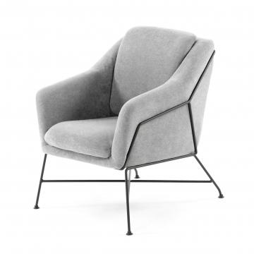 Кресло Brida светло-серый