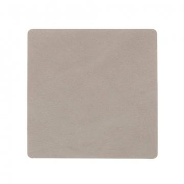 NUPO light grey подстаканник квадратный 10x10 см