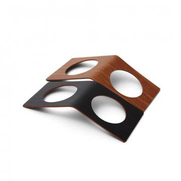 BUFFALO black/nature кольцо для cалфетки 6х14см 2 шт.