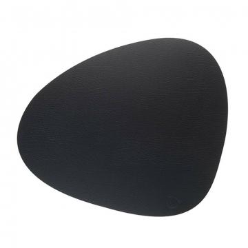BULL black подстановочная салфетка фигурная 37x44 см