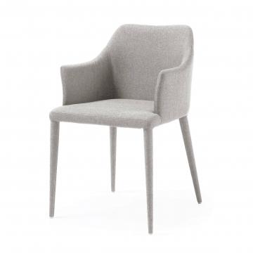 Кресло Danai светло-серое