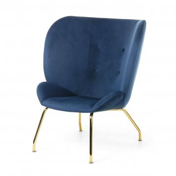 Кресло Vernen темно-синее
