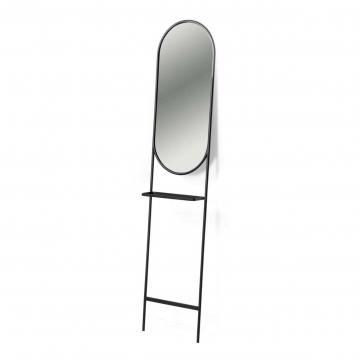 Зеркало Zelma с полкой